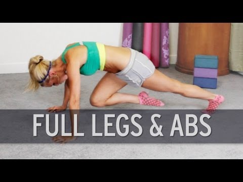 Full Legs And Abs Workout
