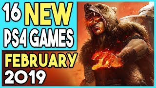 16 Big Ps4 Games Coming In February 2019 (new Ps4 Releases)