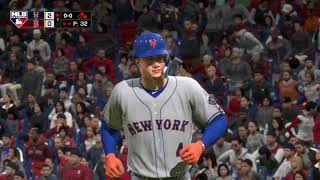 MLB The Show 18 (Boston Red Sox Season Mode) Game #150 - NYM @ BOS