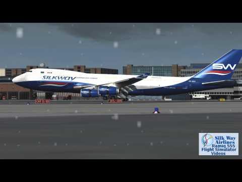 *Silkway*Azerbaijan Cargo Boeing747