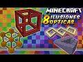 Minecraft: 8 Ilusiones ópticas que te destrozarán la cabeza! (Mapa)