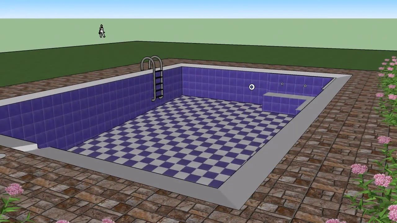 piscina familiar 6x4 mts youtube