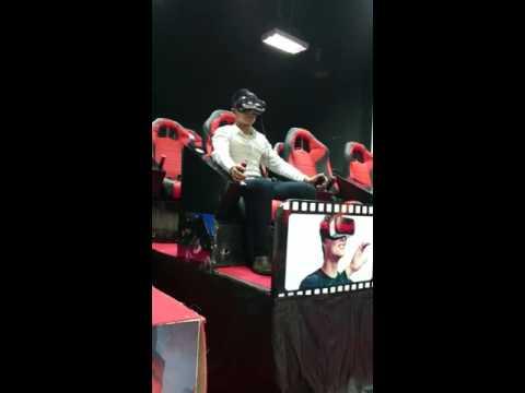 Test 9D cinemax tại RoyalCity