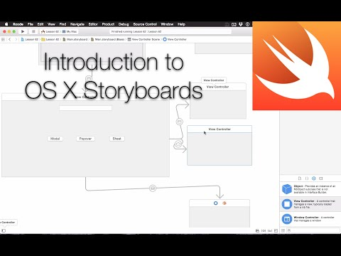 Cocoa Programming L62 - Storyboards