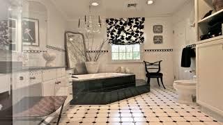 Черно Белое Шикарные ванные