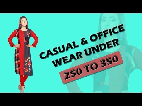 Office Wear UNDER 250 TO 350|| #Geeta_Tex || #Ambika_Kurtis