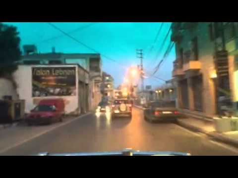 Driving in south Lebanon June 2nd 2015