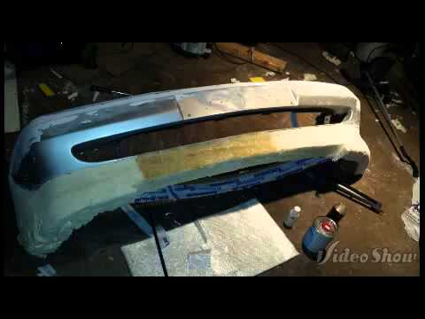 Homemade Fiberglass Bumper Youtube