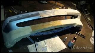 Homemade fiberglass bumper