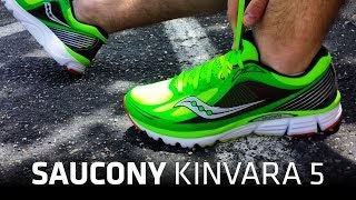 Running Shoe Overview: Saucony Kinvara 5