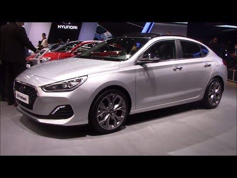 2018 Hyundai i30 Fastback Public debut Interior and Exterior Frankfurt Autoshow 2017