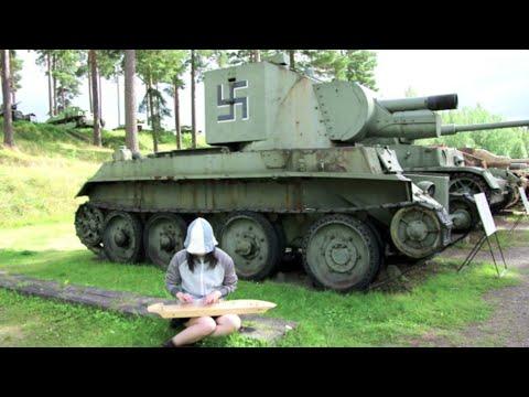 【GIRLS&PANZER Real Place】Säkkijärven Polkka【My Kantele Playing】