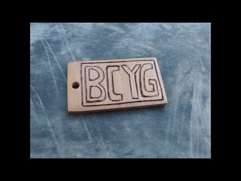 How to Make a Wooden Keychain