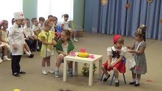 VLOG Утренник в детском саду. Играю роль Красной Шапочки.