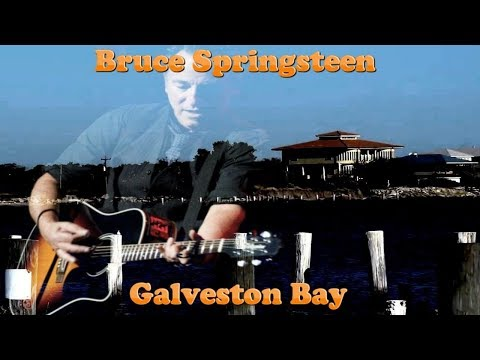 Bruce Springsteen -  Galveston Bay ( Lyrics )