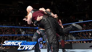 Breezango vs. Bludgeon Brothers: SmackDown LIVE, Jan. 2, 2018