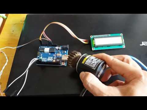 Lập trình vi điều khiển- Phần 200- Lấy tín hiệu từ encoder công nghiệp cho Arduino