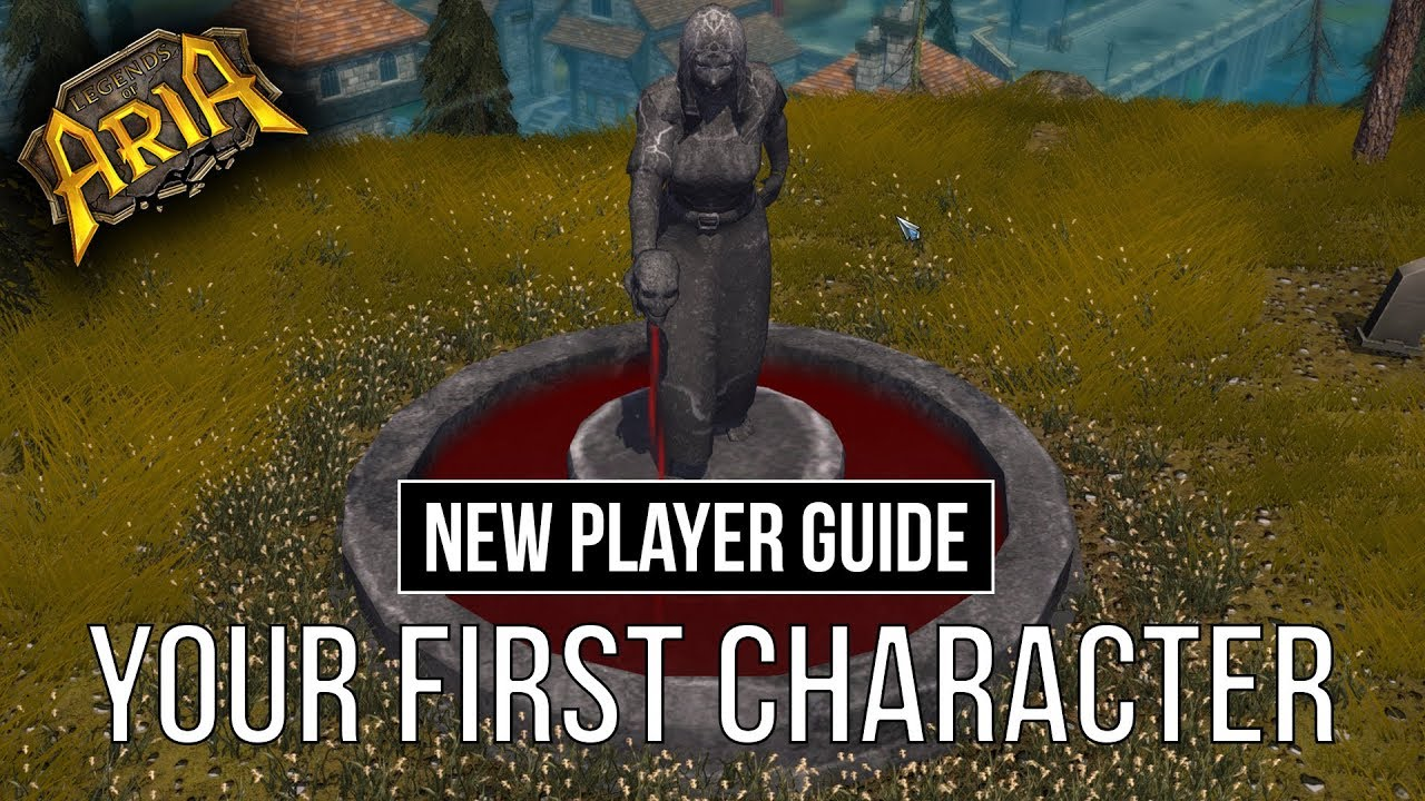 NEW PLAYER GUIDE - Your first Character   Legends of Aria (Ultima Online 2)