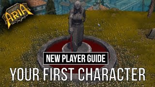 NEW PLAYER GUIDE - Your first Character | Legends of Aria (Ultima Online 2)