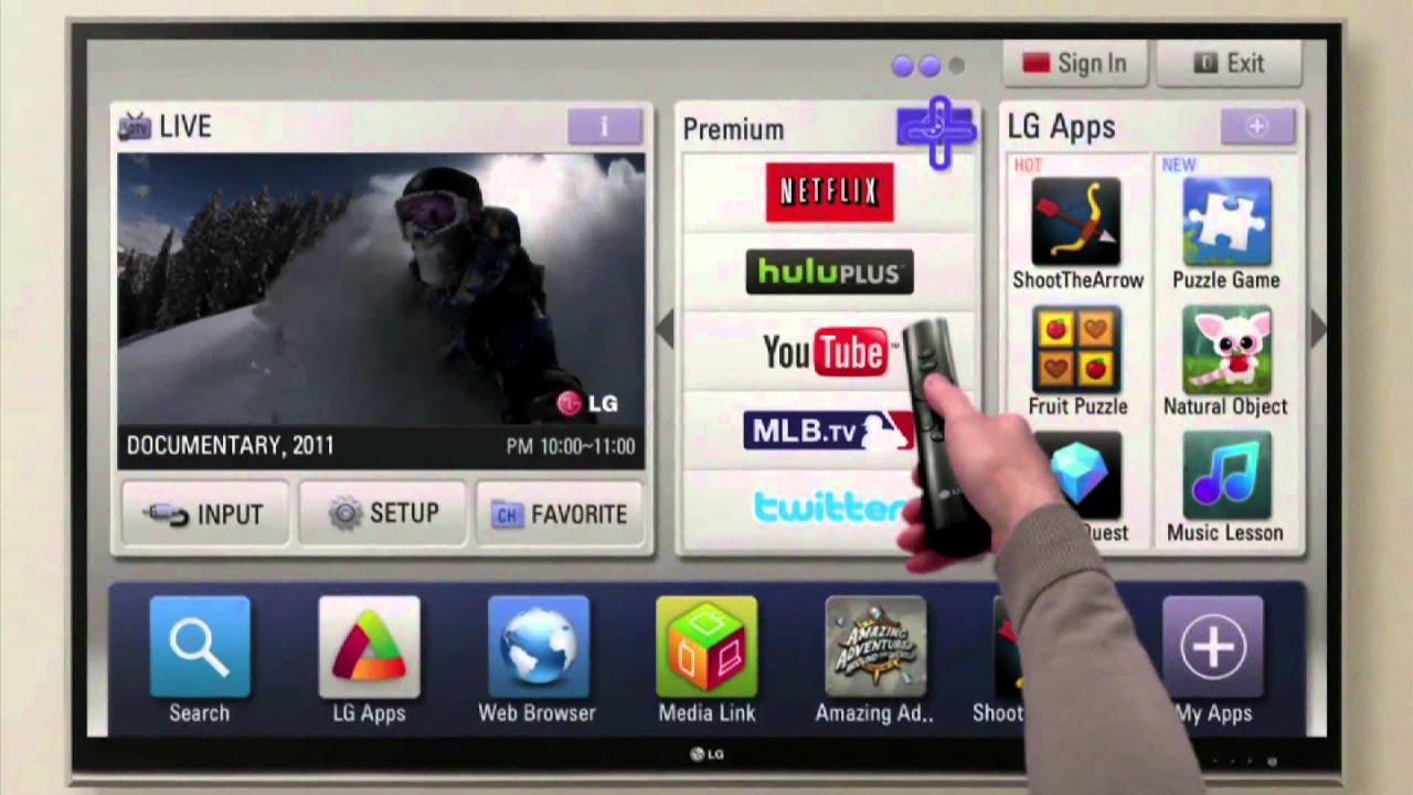 LG 32LV3700 TV Update