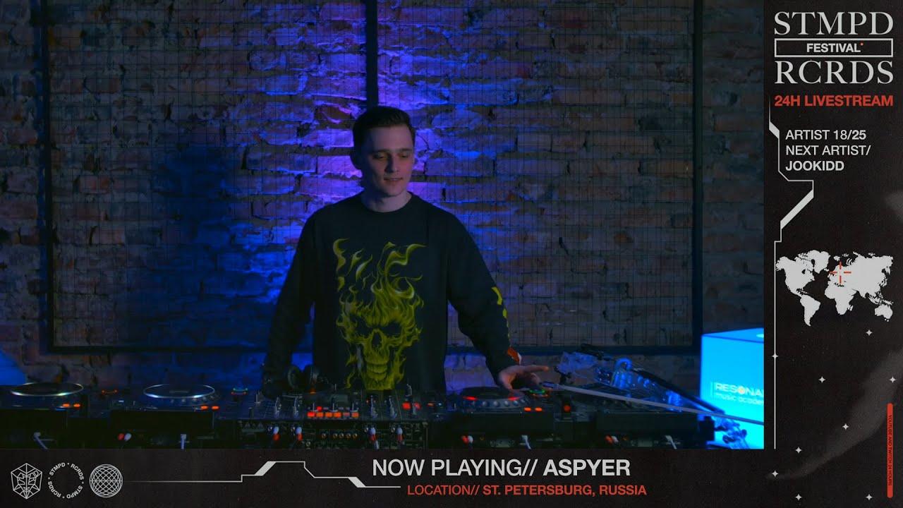 Download ASPYER LIVE @ STMPD RCRDS FESTIVAL