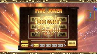 #TAG7 - Fire Joker - 1€ Einsatz - Online Casino