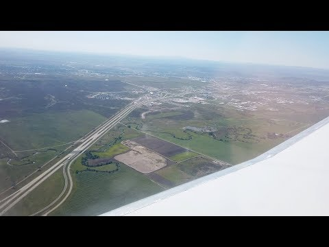 Rapid City, South Dakota - Landing At Rapid City Regional Airport (2019)