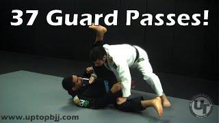 Up Top Martial Arts Academy (Wayne, NJ): Complete BJJ Guard Passing Curriculum
