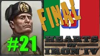 Hearts of Iron IV - Italian Campaign #21 Final