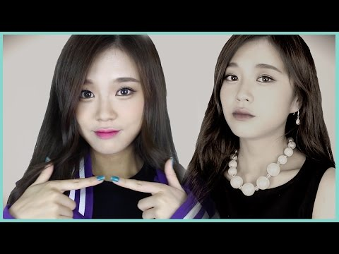 트와이스 쯔위 CHEER UP 메이크업 // Twice Tzuyu Makeup Tutorial