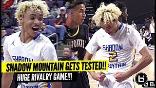 Shadow Mountain Gets TESTED In CRAZY REMATCH vs RIVAL School! Jaelen House SNAPS!!