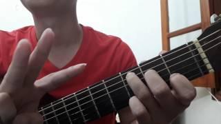 """Guitar hướng dẫn: Intro, đệm hát """"Mong ước kỉ niệm xưa"""" - Tam ca 3A - ST: Nguyễn Xuân Phương"""