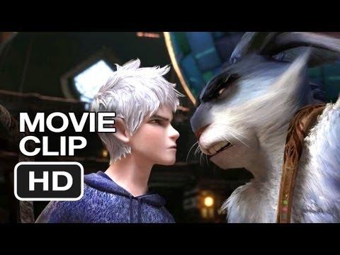 Rise of the Guardians Movie CLIP - Jack Vs. Bunny (2012) - Alec Baldwin Movie HD
