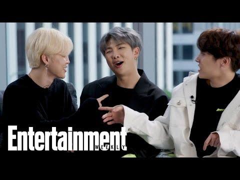 BTS: Watch The Hit K-Pop Group Teach Popular Korean Slang Words | Entertainment Weekly