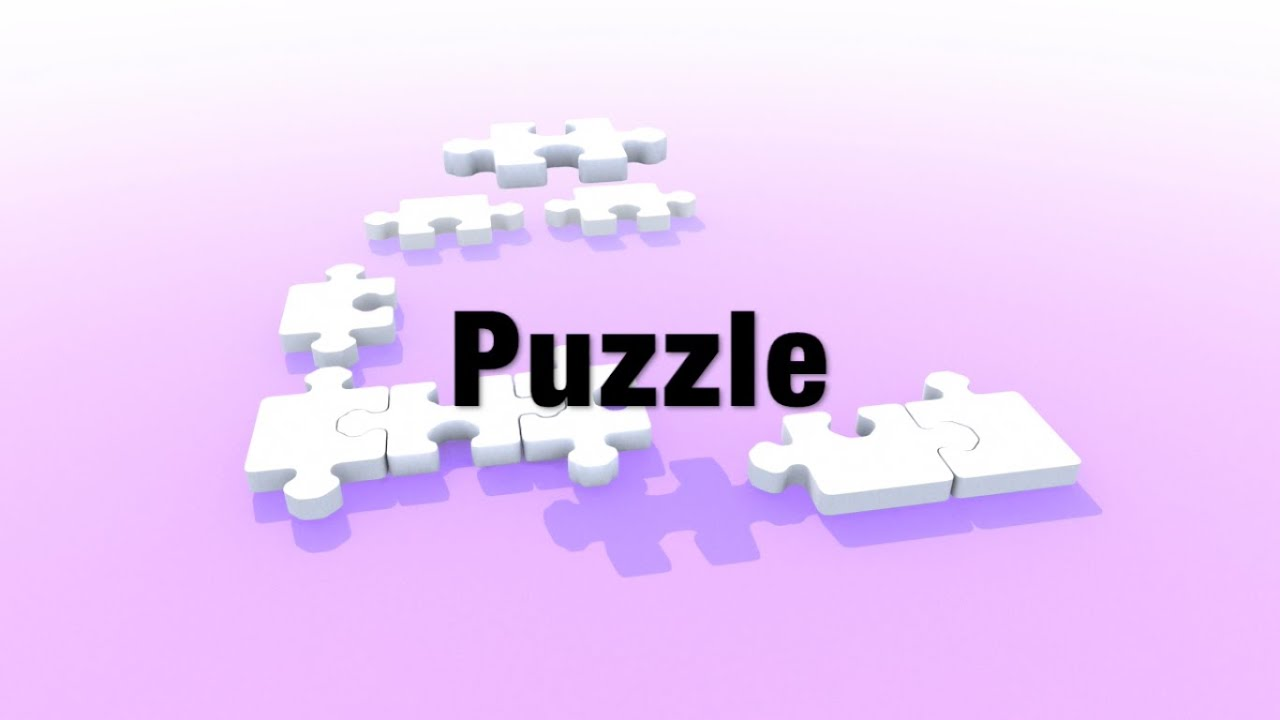 Odcinek 1: Are you puzzled?