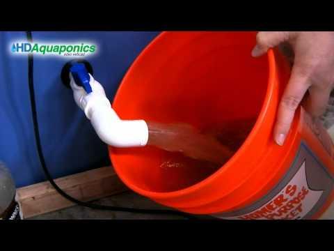 HD Aquaponics Ep.29 - Swirl Filter Blowdown, Harvesting Fish Waste, Fertilizer, Sand Filter