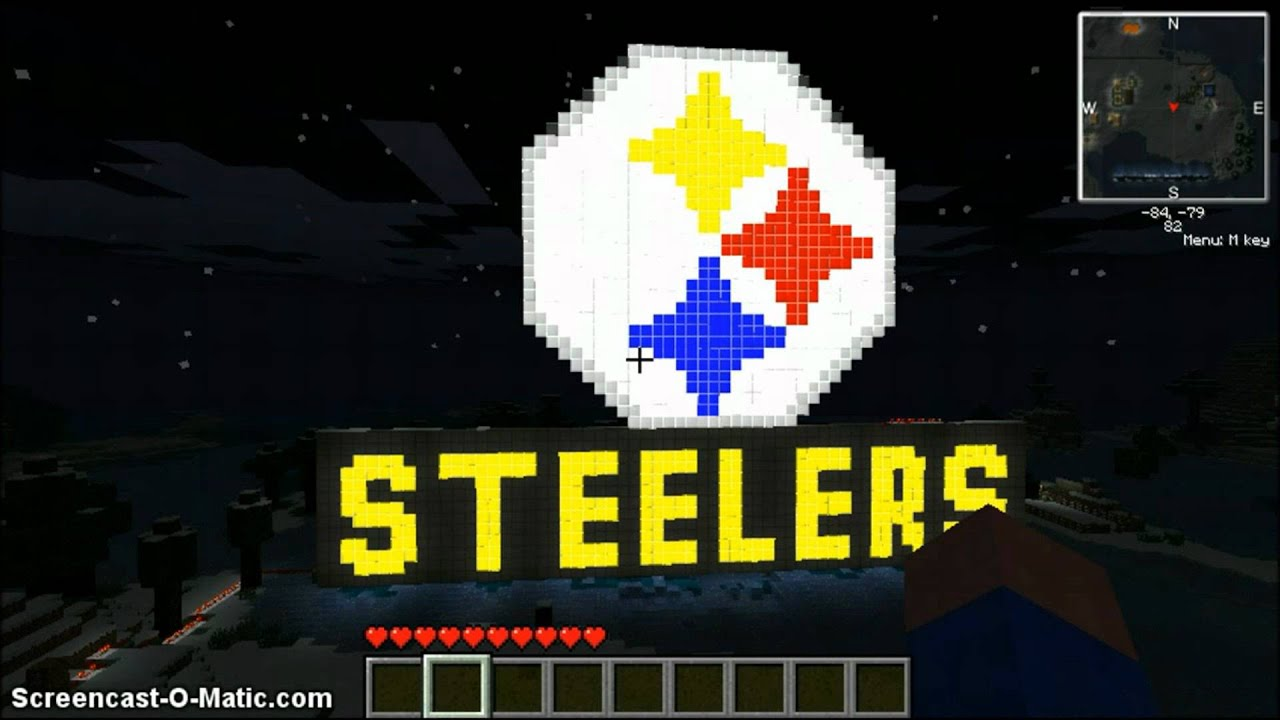 minecraft: steelers logo - YouTube