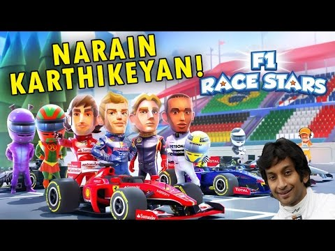 "F1 Race Stars | ""NARAIN KARTHIKEYAN!!"" (w/Dmad96)"