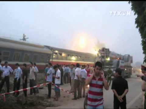 Tai nạn giao thông đường sắt tại Nam Định