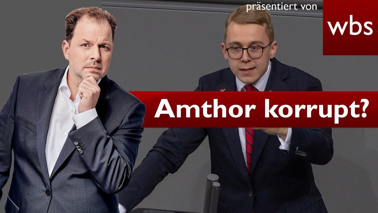 Nico Semsrott zeigt Philipp Amthor wegen Korruption an - Ist der CDU Politiker&Lobbyist bestechl