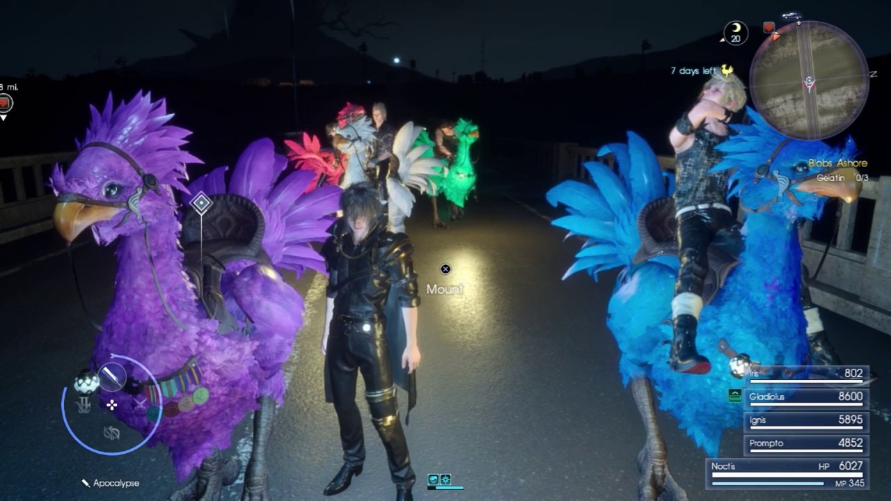 Final Fantasy XV (PS4): Bypass Blockades w/ Iris In Your Party