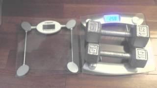 Etekcity Glass Digital Body Weight Scale Review