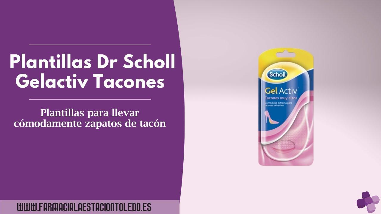 Plantillas dr scholl gel activ tacones uso diario - Plantillas para la pared ...