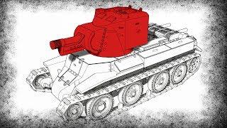 Как Финны Модернизировали БТ-7?