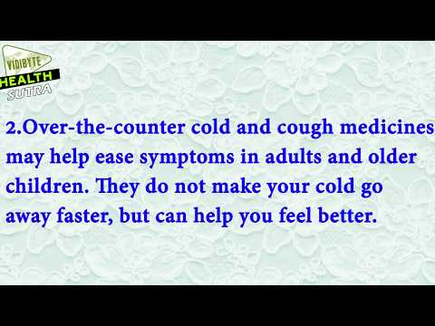 Symptoms of Cold