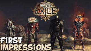 Path Of Exile 2021 Fiŗst Impressions