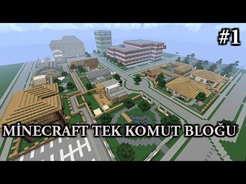Minecraft Tek Komut Bloğu - KASABA - #1