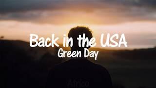 Green Day Back In The USA Sub Español