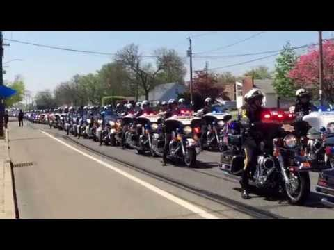 Rest in Peace Brian Moore Funeral #plainedge #NYPD #bmoore