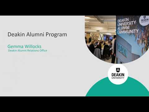 How can DeakinTALENT and Alumni Relations support you?